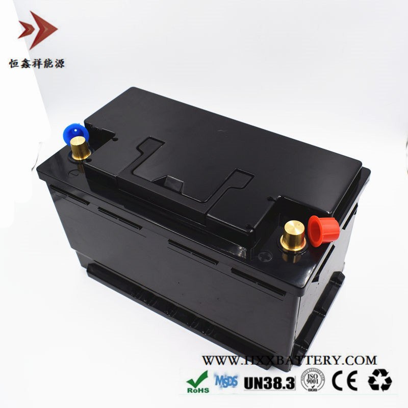 HXX 12V 80AH LiFePo4 Battery Pack BMS Deep Cycle Long Period Protection Cells ABS Case Standard Wholesales Price Vehicle Power free customs taxes high quality skyy 48 volt li ion battery pack with charger and bms for 48v 15ah lithium battery pack