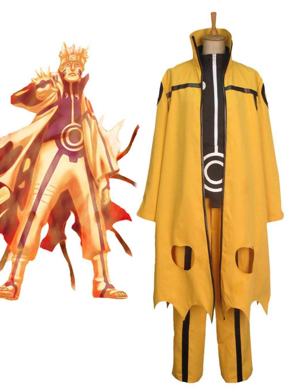 naruto uzumaki naruto nine tails chakra mode cosplay