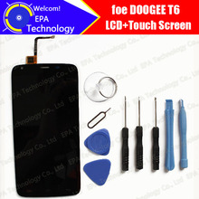 Doogee T6 LCD Display With Touch Screen Digitizer Assembly 100% Original LCD Screen Glass Panel Replacement For Doogee T6