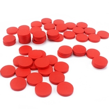 Montessori Materials Kids Wood Toys 55Pcs Red Counters Learning Mathematics Wooden Chips Baby Toy Preschool Brinquedos Juguets