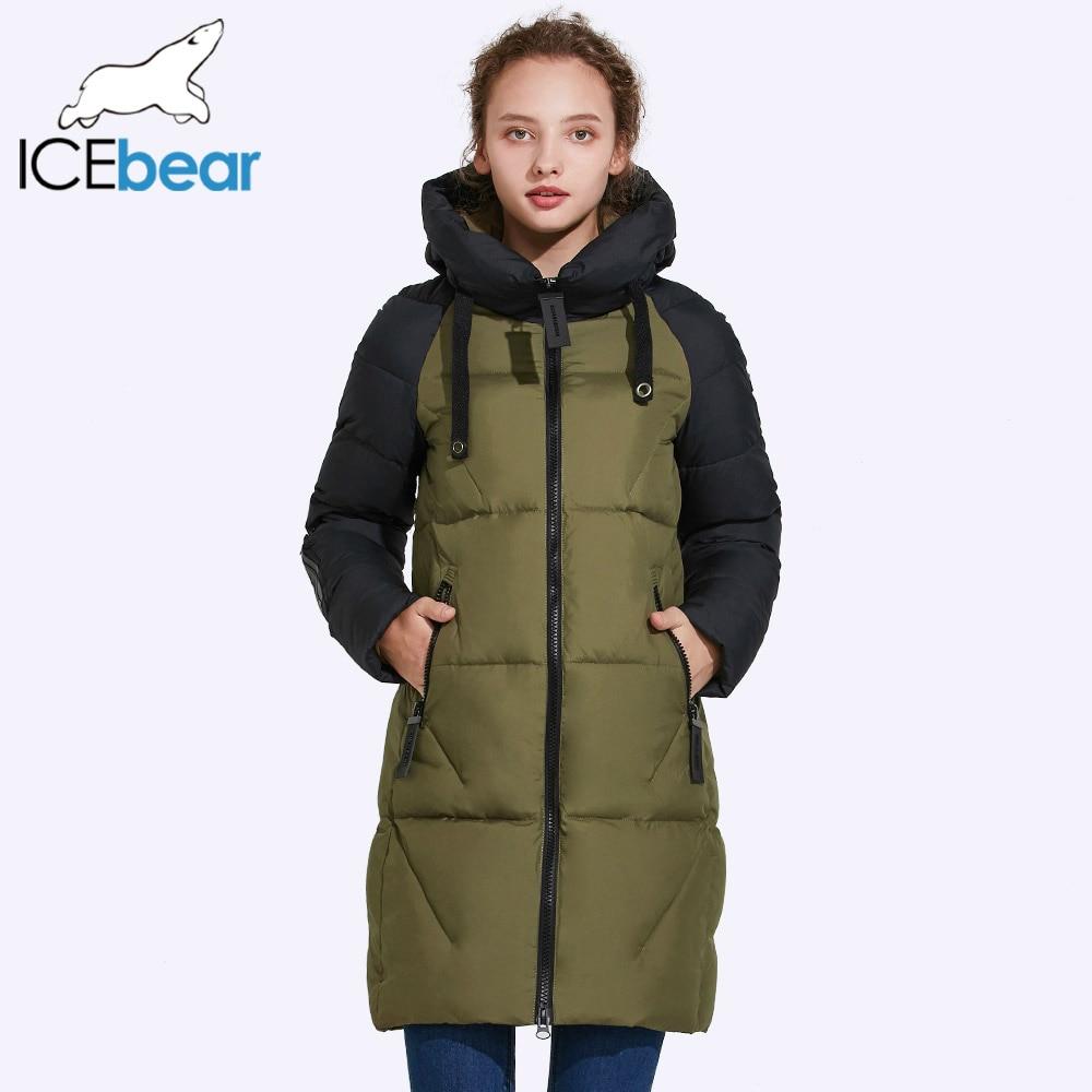 ICEbear 2017 New Women Winter Jacket Hooded Jacket Women ...