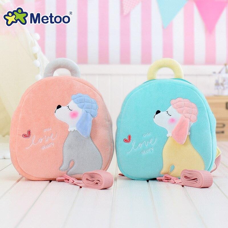 Metoo Angela Rabbit Girl Baby Shoulder Bag for Kindergarten