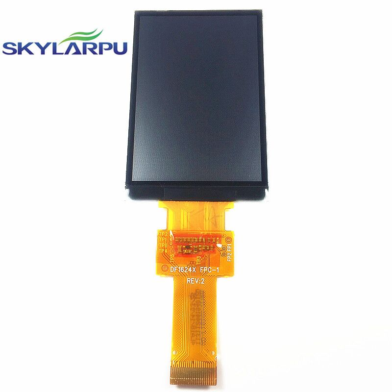 skylarpu 2.6 inch LCD Screen For GARMIN edge 800 LCD display screen DF1624X FPC-1 RE:V (Without backlight) Free shipping skylarpu lcd screen for garmin edge 520 bicycle speed meter lcd display screen panel repair replacement free shipping