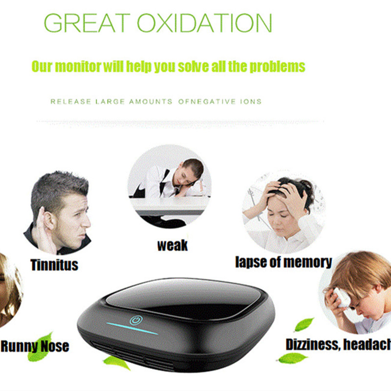 все цены на Free shipping portable car air purifier with hepa filter with usb from OHMEKA онлайн
