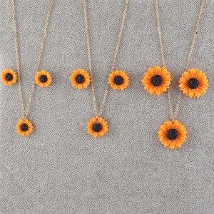 New Sunflower Stud Earrings Ne
