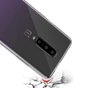 Image 4 - Coque pour oneplus 7 pro OnePlus 7 coque transparente transparente en silicone souple en ptu ultra mince fond mofi coque arrière one plus 7 pro