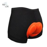 Unisex Black Bicycle Short Underwear Pants Gel Mountaion MTB Cycling Bike Bicycle Shorts Bib Underwear Undershorts