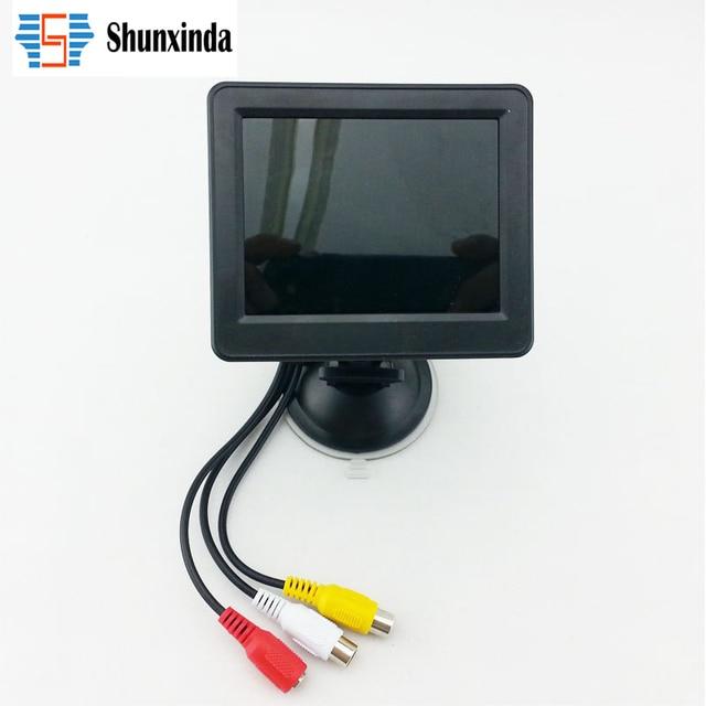 Nueva Alta Calidad de 3.5 pulgadas HD pantalla Del Coche Digital de Color de TFT LCD Monitor Del Rearview DVD