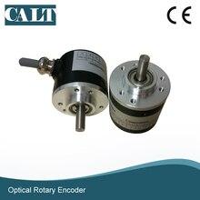 цена на CALT motor speed sensor Optical Incremental Rotary Encode GHS38 6mm shaft encoder 360 400 600ppr AB phase
