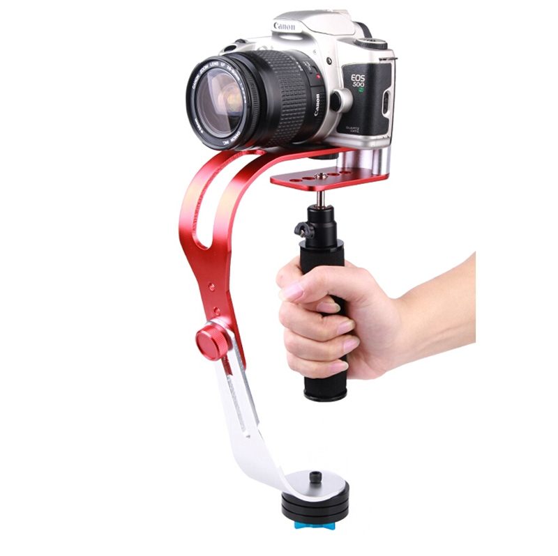 Professional Handle Handheld Video Steady Cam Stabilizer Support Stand for Canon Nikon Sony