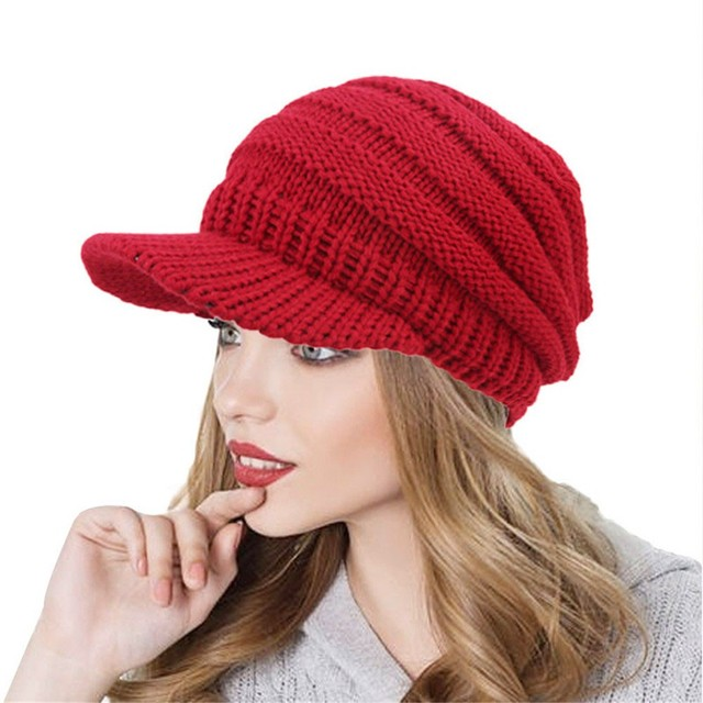 b21c767d0f0 Drop Shipping 2018 Soft Knit Ponytail Beanie Warm Winter Hats For Women Beanie  Hat Stretch Cable