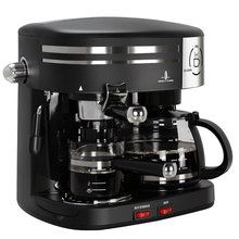 Free shipping American Italian household drip type automatic steam coffee machine Coffee machine