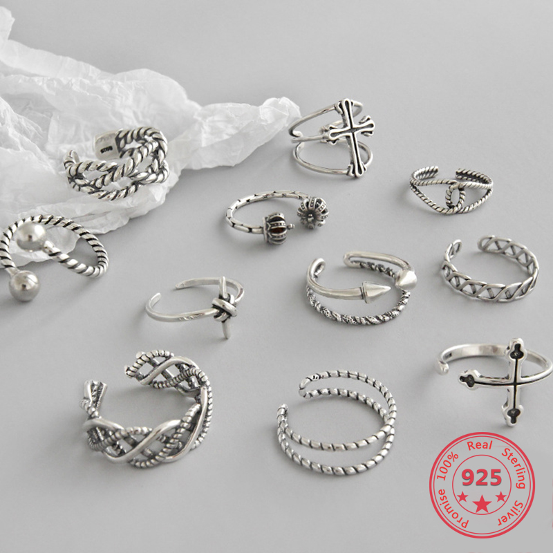 Hot Sale 100% Real 925 Sterling Silver Crown Rings For Women European Original Brand Wedding Silver Ring Fashion Jewelry Gift