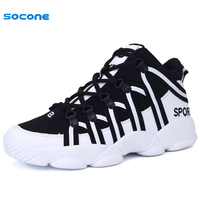 New Black White Men Sneakers Autumn Winter Sport Outdoor Walk Run Shoes For Male Athletic Cool Big Size 36-45 Boy Trainers A09