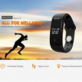 Elephone ELE MGCOOL Band 2 Pedometer Smart Wristband Heart Rate Monitor Fitness Bracelet IPX7 Waterproof Android I-OS Smartband