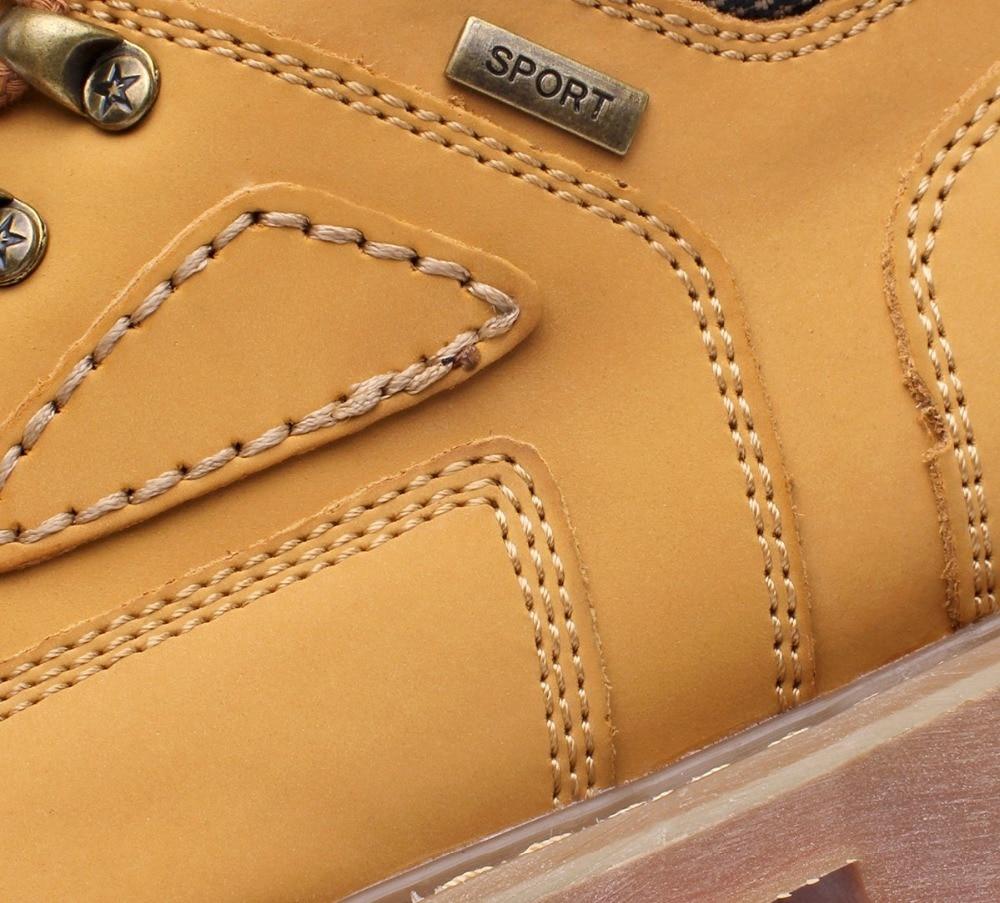 Homens Livre slip Calções Moda Quentes Sapatos Brown Europeu Casuais Retro amarelo Ar Ferramentas Brown Estilo Dos Ao Botas Dark light Anti De wWWqgAPX