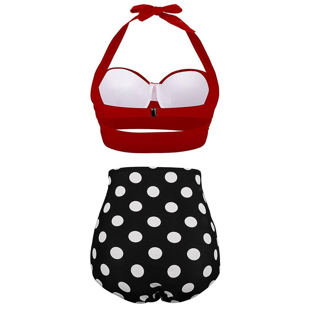 HTB1WaPIbh2rK1RkSnhJq6ykdpXa9 High Waist Swimsuit 2019 Black White Striped Bikinis Women Bandage Top Push Up Swimwear Female Bathing Suits Beach Wear Biquini