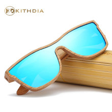 Kithdia New Arrived Natural Wood Sunglasses Polarized With Bamboo Box and Support Drop Shipping / Provide Pictures #KD205