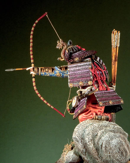 Japaneseապոնացի սամուրայ գեներալները - Խաղային արձանիկներ - Լուսանկար 4