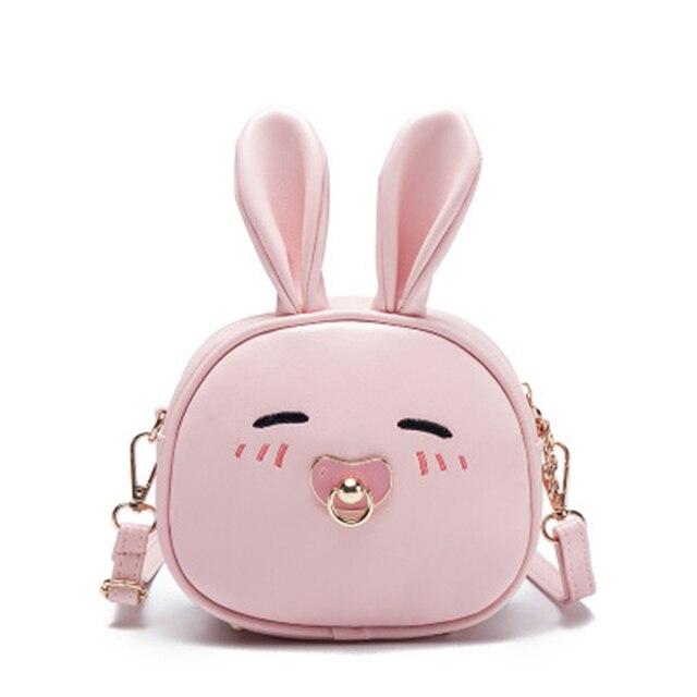 Escola crianças sacos para meninas do berçário do bebê mochila bonito dos desenhos animados coelho Animais do jardim de infância schoolbag crianças saco de Ombro
