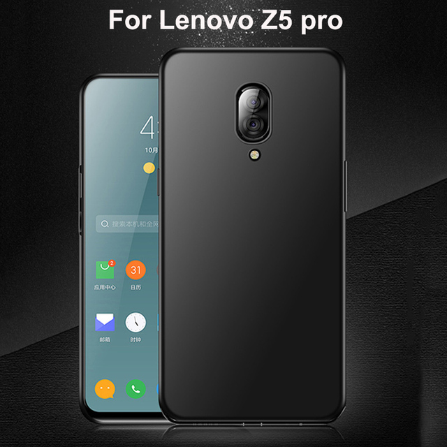 "6.39"" For Lenovo Z5 Pro Case Z 5 pro Cover sillicon Bumper Shockproof Phone Protercted Back Cover For Lenovo Z5Pro L78031 Case"