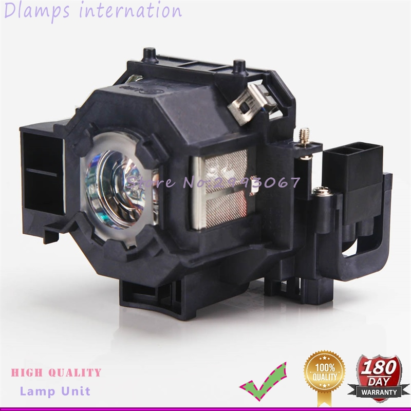 ELPLP42  V13H010L42 Projector Lamp with Housing For EMP-400W EB-410W EB-140W EMP-83H PowerLite 822p EMP-400e EX90 aliexpress hot sell elplp76 v13h010l76 projector lamp with housing eb g6350 eb g6450wu eb g6550wu eb g6650wu eb g6750 etc