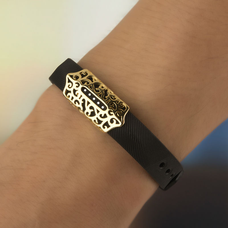 Hot Watch Cover Case For Fitbit Flex 2 Band Accessory Metal Sleeve Protector Cov