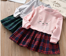 цена на T Shirts And Dress 2 Sets Girls Clothes Sets Girls Sweatshirt Teenage Clothes For Kids 1285