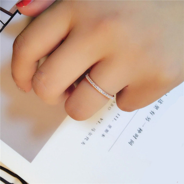 Simple Classic stamp exquisite fashion rings 3