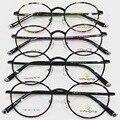 Luz de tungsteno de acero titanium frame señora alta archivos hombre marea gafas de miopía óptico marco miopía marco de imagen