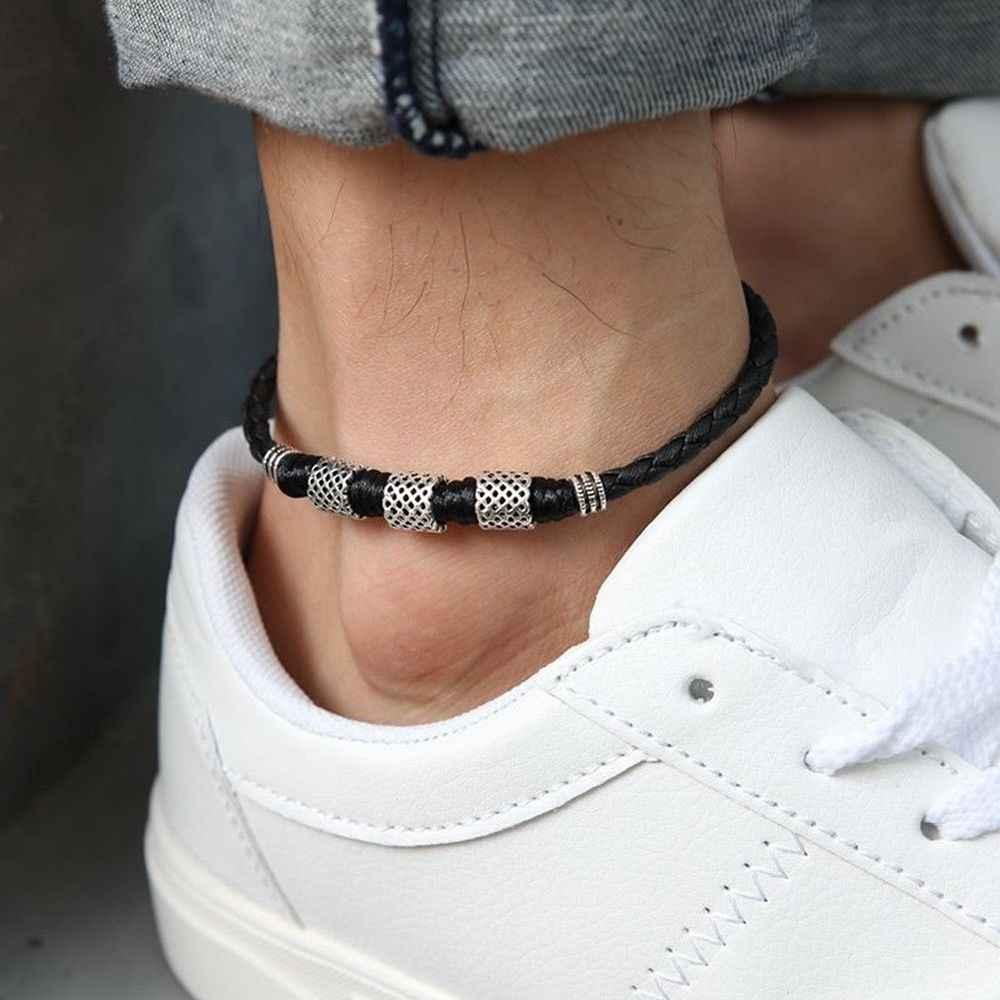 подробнее обратная связь вопросы о кожаный браслет на ногу с