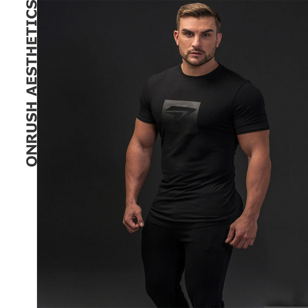 Careful 2019 Men Patchwork Sport Training Cotton T-shirt Sleeveless Male Casual Man Gym Running Fitness Slim Tees Tops Clothing Easy And Simple To Handle Sports Clothing Vests