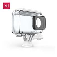 Caso para yi yi à prova d' água câmera de ação de 4 k até 40 m debaixo d' água natação mergulho yi oficial