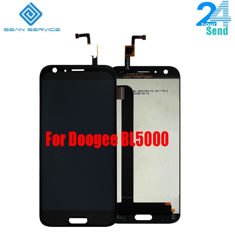 For Doogee BL5000 LCD Display Touch Screen Phone Digitizer Assembly Tested 5.5 inch 1920x1080P Free shipping Stock