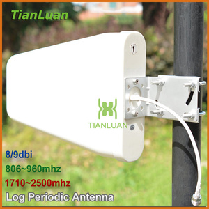 Image 1 - External Antenna Outdoor Directional Log Periodic Antenna N female for 2G 3G CDMA GSM DCS PCS W CDMA Signal Booster Repeater