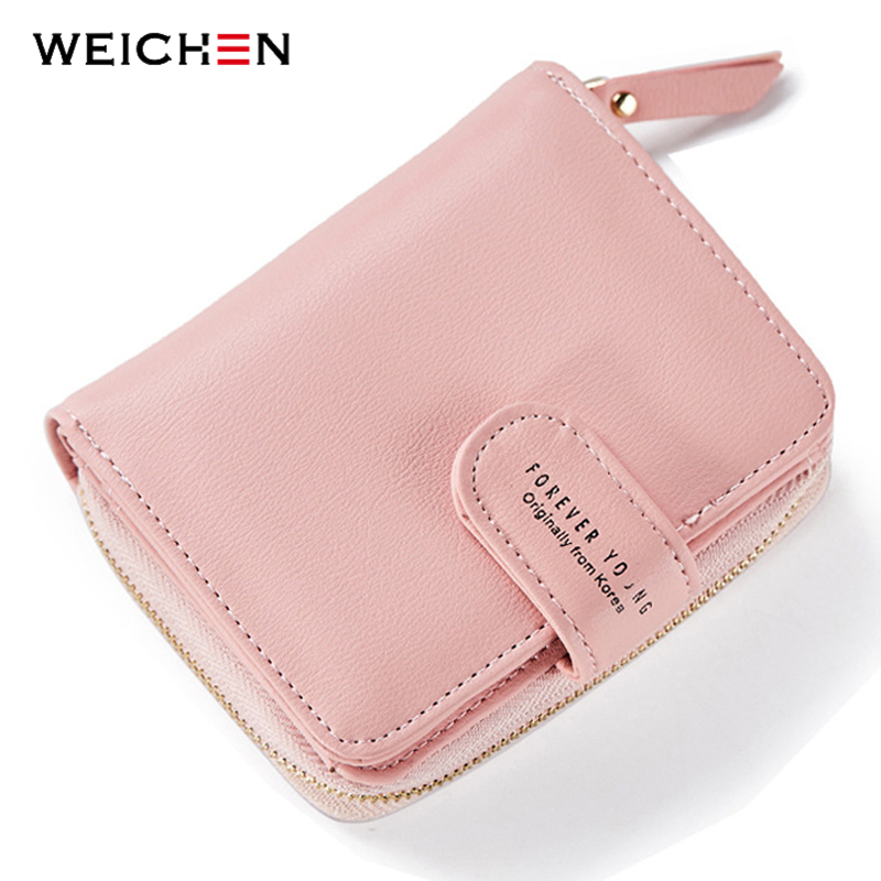 Korean Designer Women Soft Leather Wallets Coin Bag Small Wallet Purse Mini Zipper Hasp Short Lady Purse Card Holder Brand cute girl hasp small wallets women coin purses female coin bag lady cotton cloth pouch kids money mini bag children change purse
