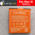 Battery For STAR i6 2600Mah Large high quality For MTK6582 5.0inch STAR i6 Smartphone