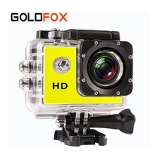 New GOLDFOX SJ 4000 Sport Mini Camera Waterproof Video Cam Camcorders 720P HD Bike Helmet Photo Camera Go Car Pro Style