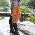 ACNC LEGEND Classic vintage cowhide tassel bag Tassel single shoulder bag bag