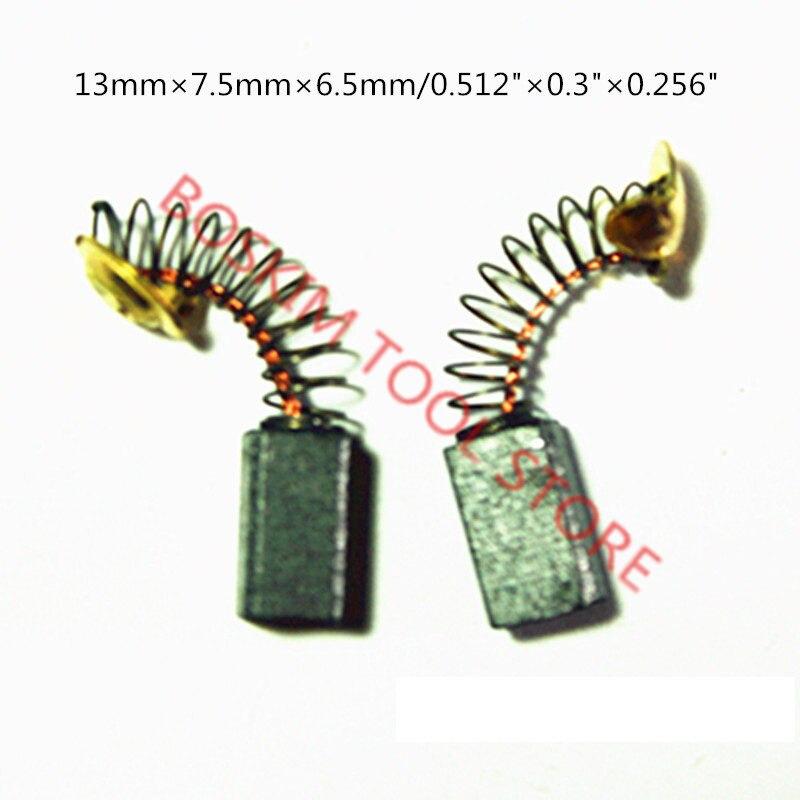 Carbon Brushes For HITACHI 999-021 999021 WR16SA WR14VB RB40SA PDA100K P20SF P20SB G13SS G10SF3 DH25PA DH25PB D10YB