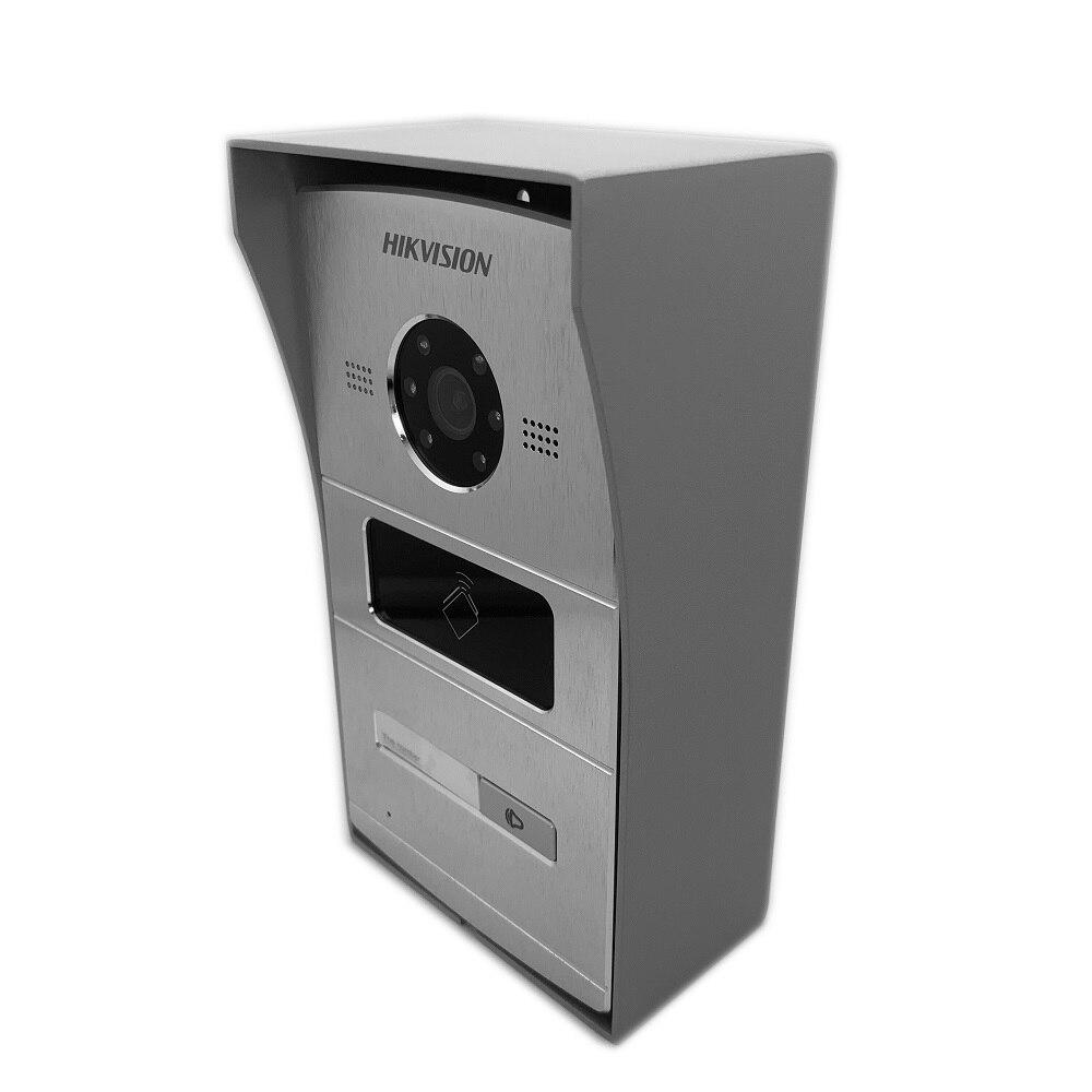 Hik Multi-idioma 1-4 botón IP timbre de la puerta teléfono Video intercomunicador Visual intercomunicador impermeable 13,56 MHz RFID tarjeta IP intercom - 2