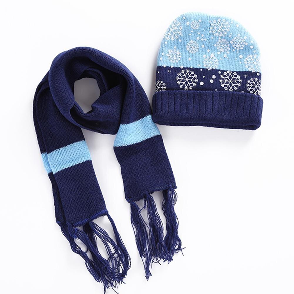 Schal-, Hut- Und Handschuh-sets Kinder Winter Warm Halten Neue Mode Handgemachte Häkeln Kinder Hut Schal Zwei-stück Stricken Jungen Und Mädchen Set Von Caps Und Schal