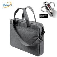 2017 New Laptop Bag 13 14 15 15 6 Inch Linen Shoulder Handbag Computer Laptop Bags