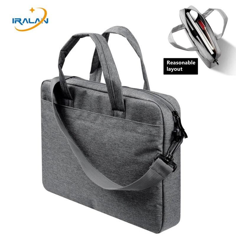 2018 Nouveau sac D'ordinateur Portable 13 14 15 pouce à bandoulière en lin sac à main Ordinateur pour Dell 15.6 Cas Étanche Femmes hommes Portable sac