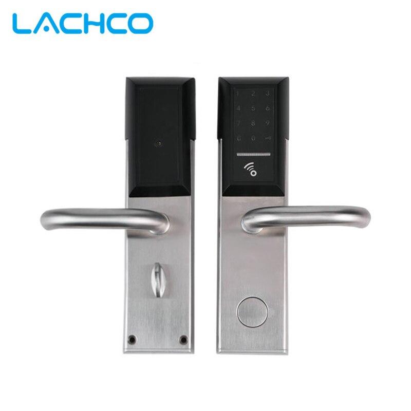LACHCO смартфон дверной замок Bluetooth приложение комбинации, код сенсорная клавиатура пароль смарт электронный замок L18026AP
