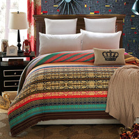 1pcs Stripe Pattern Soft Duvet Cover 100 Cotton Quilt Or Comforter Or Blanket Case Thickening Twin