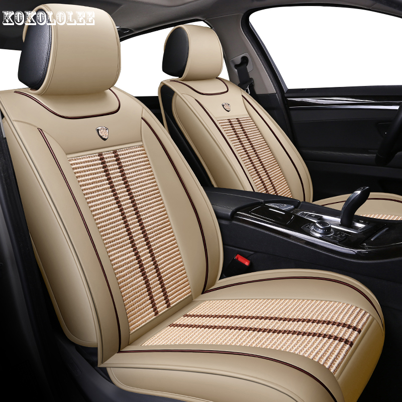 [kokololee] car seat covers for ford mondeo renault kadjar prado 120 renault clio 4 bmw x5 e53 opel vectra b auto accessories