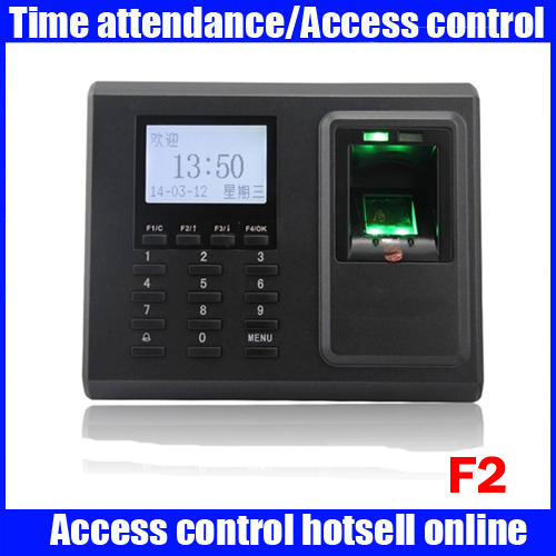 ZK F2 biometric fingerprint time attendance time clock 3000 user capacity RFID card time attendance recordingZK F2 biometric fingerprint time attendance time clock 3000 user capacity RFID card time attendance recording