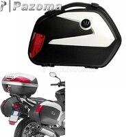 1 компл.. Универсальный мотоцикл 20L сбоку чехол корзины сбоку коробка хвост чемодан для Suzuki Триумф Yamaha Honda BMW Kawasaki