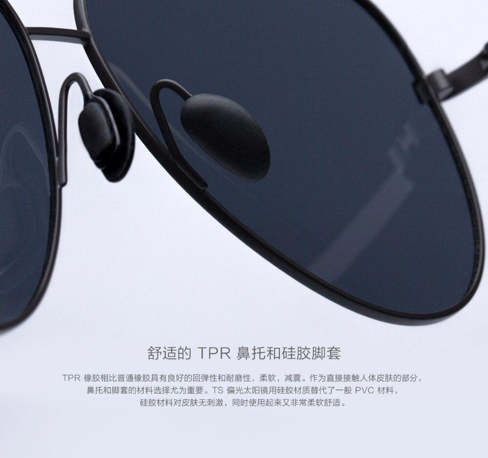 Xiaomi Mijia Turok Steinhardt TS Driver SunglassesTS Nylon Polarized Stainless SunGlass UV400 for Travel Driving unisex H20 (13)